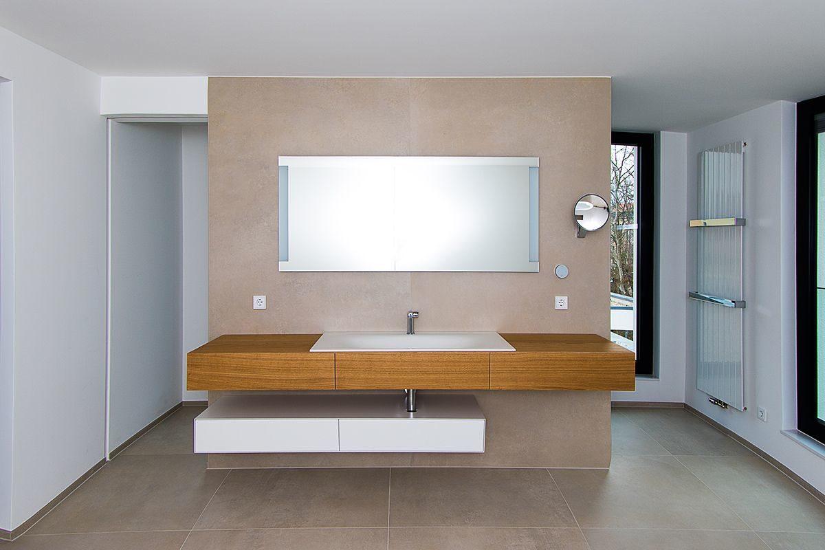 Referenz Modernes Bad mit XXL-Fliesen | Fliesen & Design Hartmann